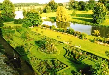Deene park garden2