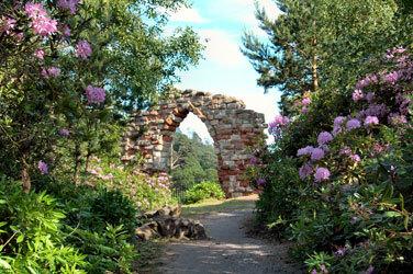 Hawkstonepark arch