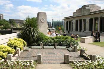 Seamens memorial garden