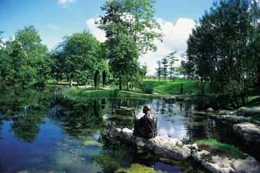 St fiachras garden