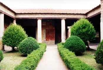 Pompeii garden1