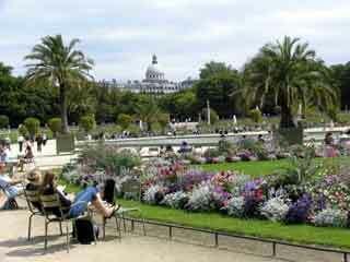 luxembourg garden paris1 - Jardin Du Luxembourg Paris