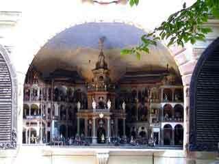 Hellbrunn water grotto