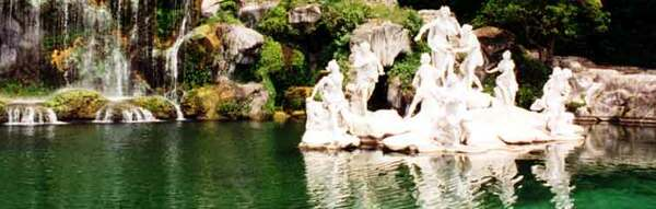 Caserta water sculpture