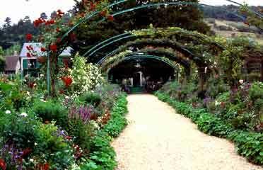Giverny garden1