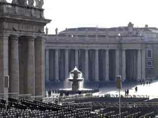 Vatican fountain2