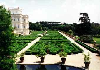 Doria pamphili garden