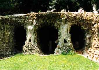 Doria pamphili grotto