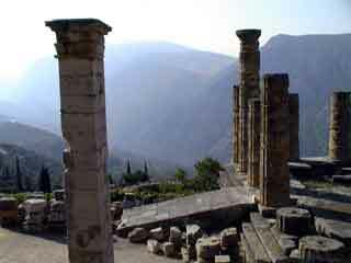Delphi temple apollo