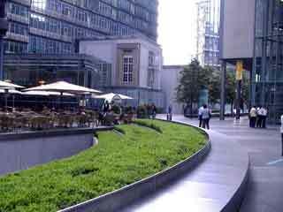 Sony center garden