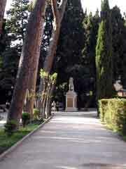 Mattei villa garden