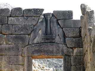 Mycenae gate