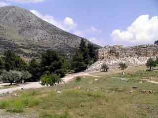 Mycenae walls