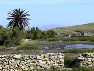 Delos sacred lake