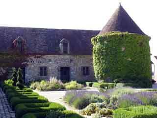 Boisricheux medieval garden