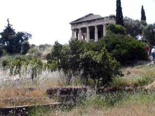 Temple hephaistos