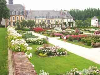 Valloires garden1