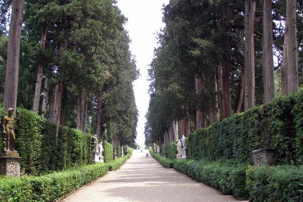 Avenue, Giardino di Boboli
