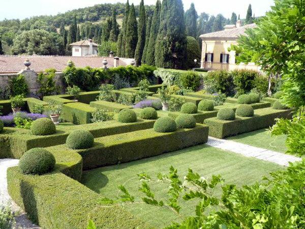Villa La Foce, Tuscany