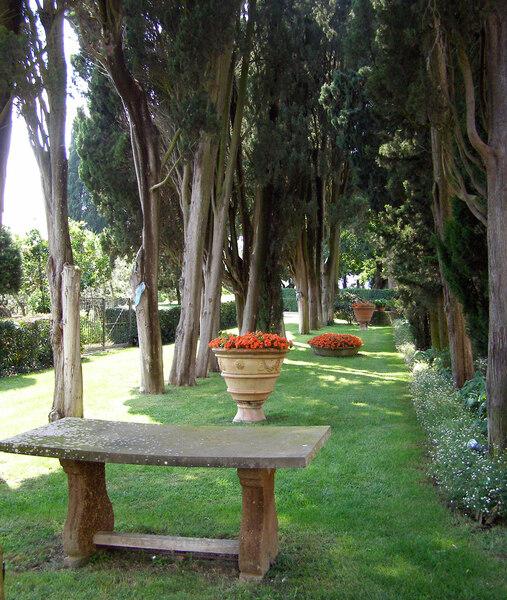 Villa Poggio Torselli, Summer