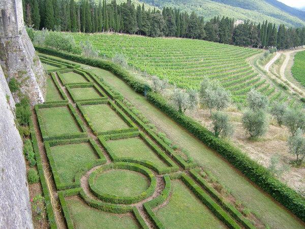 Castello di Brolio Garden