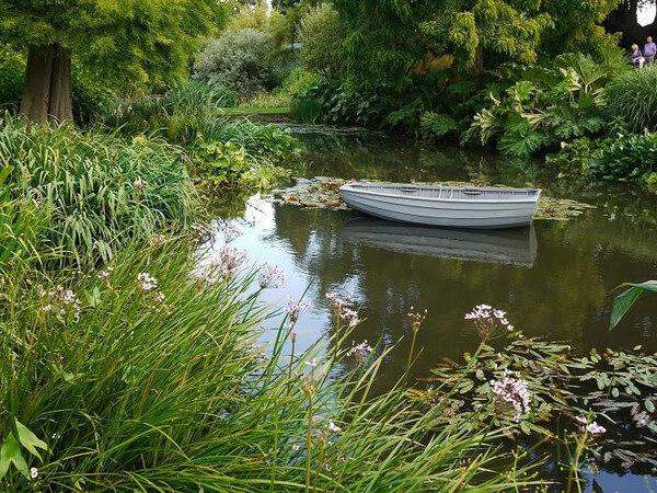 Boat, Beth Chatto Gardens