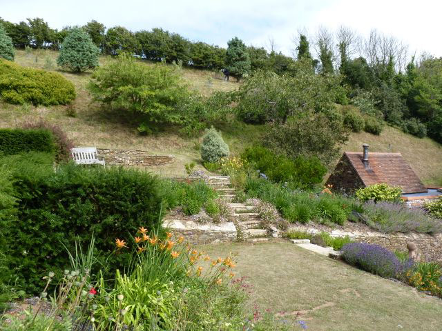 Mottistone Manor, July