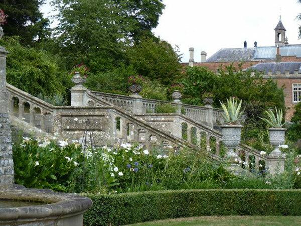 Stone Staircase, Englefield House Garden,