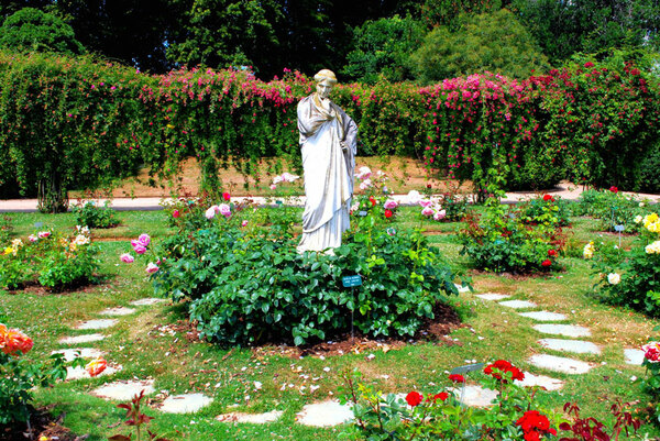 Statue, Parc du Thabor