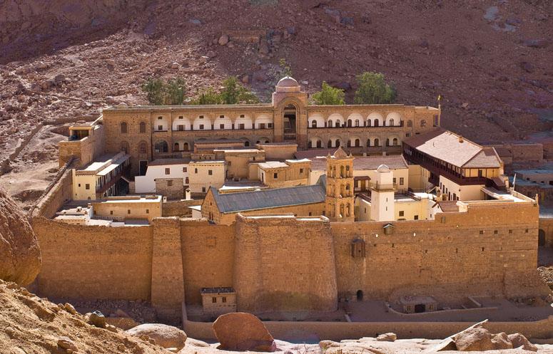 St Katherine's Monastery Garden Egypt
