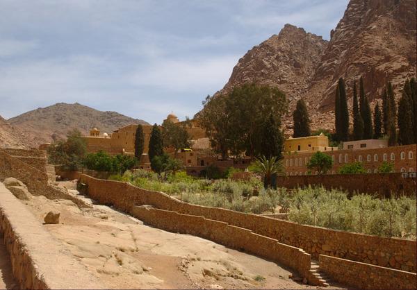 St Katherine's Monastery Garden