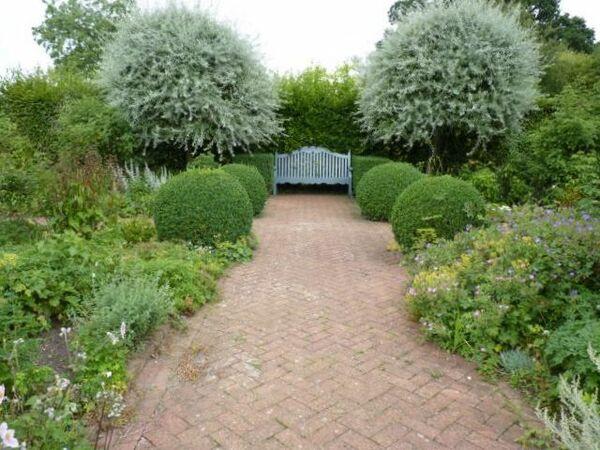 Wyken Hall Garden, Summer