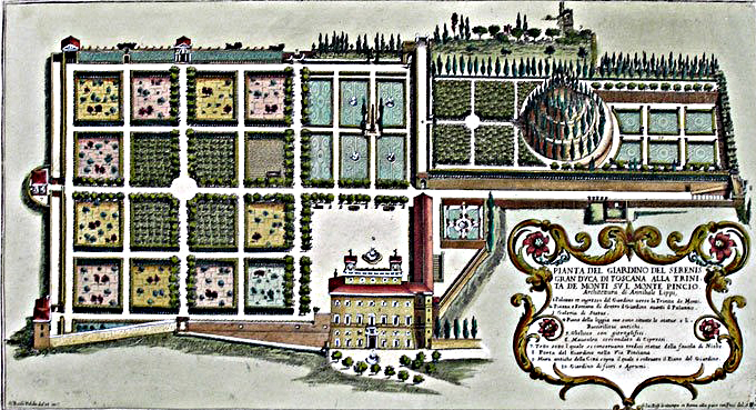 Villa medici rome academie francaise - Villa medicis rome chambres ...