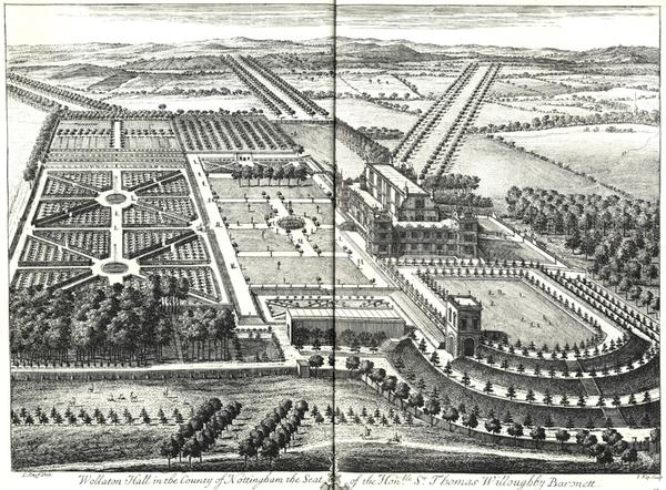 Wollaton Hall Garden