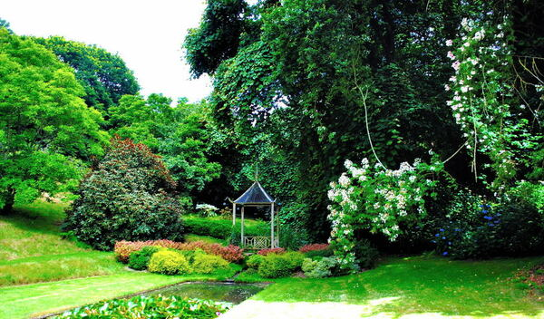 Pond, Jardins de Kerdalo