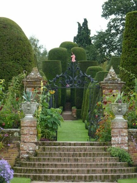 Packwood House Garden, Autumn