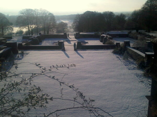 Renishaw Hall, Winter