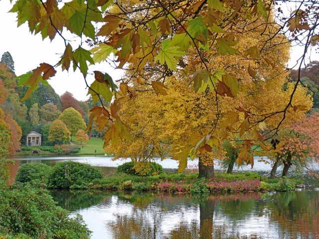 Stourhead Garden, Autumn