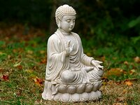 Medium garden ornaments buddha original