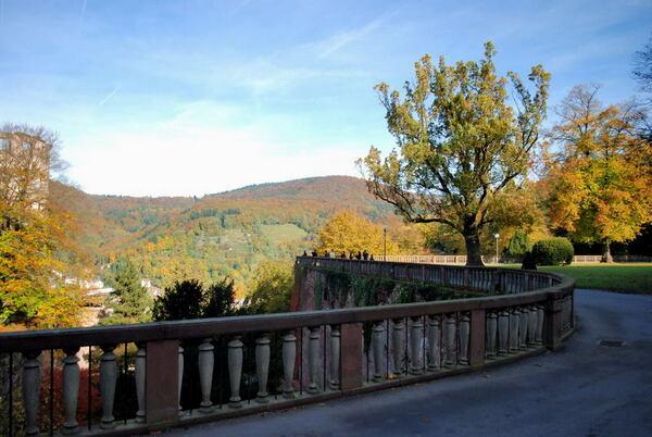 Heidelberg Schlossgarten, Germany