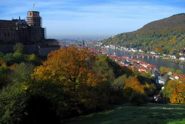Heidelberg Schlossgarten
