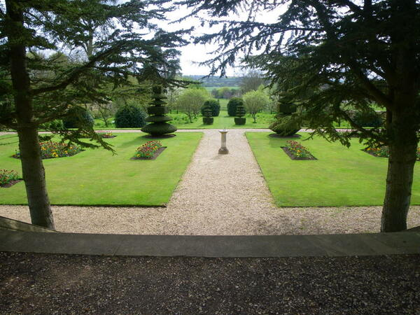 Canons Ashby Garden, Northamptonshire