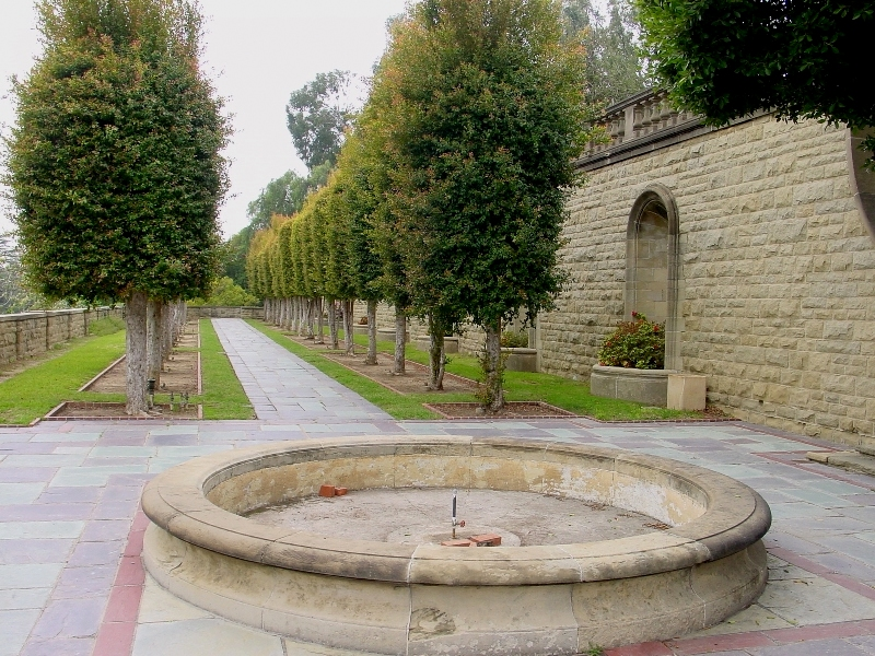 Greystone Mansion and Park, California