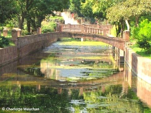 Balsamand Palace Garden, Jodhpur