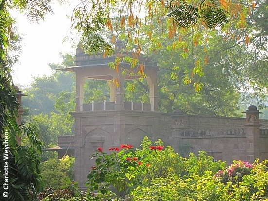 Balsamand Palace Garden, Rajasthan