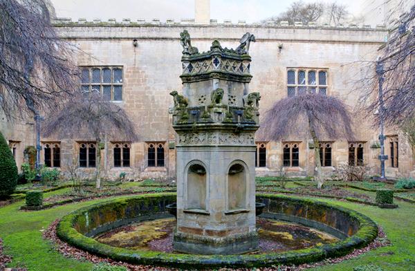 Newstead Abbey Cloister Garden